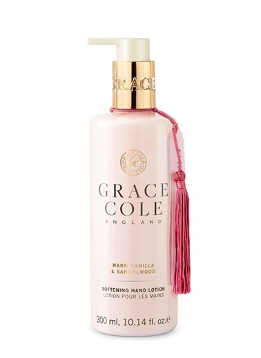 Grace Cole Warm Vanilla & Sandalwood El Kremi 300 ml  Renksiz